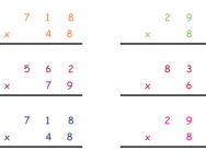 math worksheet : long multiplication explained for primary school parents  column  : Long Multiplication Worksheets With Answers