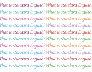 What is Standard English?