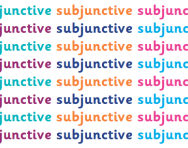 What is the subjunctive?
