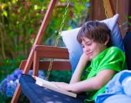 Why reading makes children happier