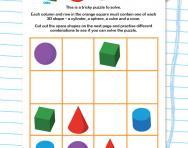 3D shape Sudoku