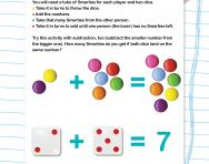 Add and subtract numbers in your head