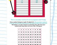 Adding 10 to a number worksheet