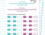 math worksheet : decimals explained for primary school parents  theschoolrun : Partitioning Decimals Worksheet