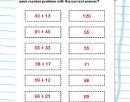 Adding two-digit numbers activity