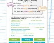 Adverbs revision worksheet