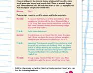 Play script homework year 6 curriculum