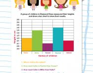 Bar chart investigation worksheet