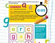 Blending CVC words game