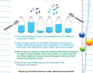 Bottle music activity