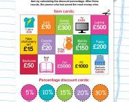 Calculating discounts worksheet