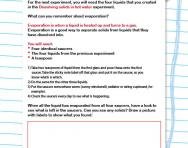 Can you separate solids from liquids worksheet