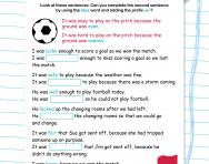 Changing word meaning with the prefix un- football worksheet