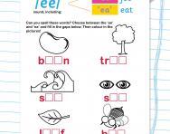 Choose ee or ea worksheet