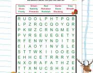 Christmas KS1 wordsearch