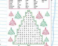 Christmas KS2 wordsearch
