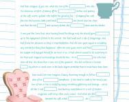 11+ Cloze test: A Little Princess