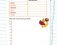 Collecting and reporting data worksheet