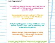 Column addition story problems worksheet
