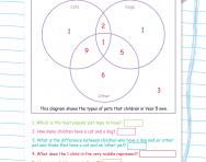 Complex Venn diagrams worksheet