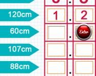 Converting measurements between centimetres and metres tutorial
