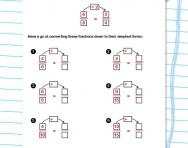 Converting fractions to their simplest form worksheet