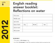 Key Stage 2 - 2012 LEVEL 6 English SATs Papers