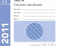 KS2 2011 Maths SATs paper