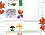 Create an autumn scrapbook