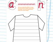 Curly caterpillar and one-armed robot letters cursive patterning practice worksheets
