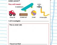 Design your own forces investigation activity