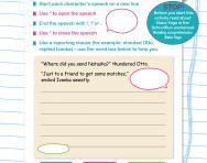 writing direct speech activities