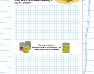 Draw your own 3D shape net worksheet