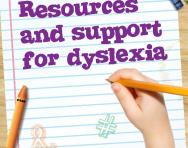 Resources and support for dyslexia pack