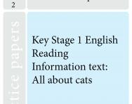 Key Stage 1 SATs English practice papers C TheSchoolRun