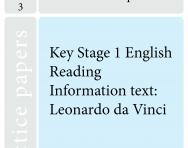 Key Stage 1 SATs English practice papers D
