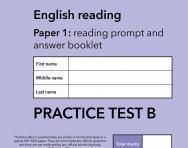 TheSchoolRun KS1 SATs English practice test B