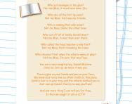 Exploring poetry: question and answer poems worksheet