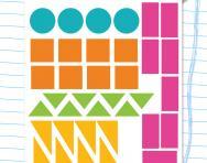Exploring shape: tessellation worksheet