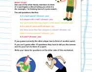 Guess the sport speaking and listening game worksheet