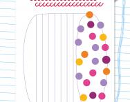 Handwriting practice: patterning 5