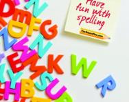Have fun with spelling pack cover