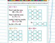 Horizontal addition practice