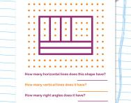 Horizontal and vertical lines worksheet