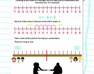 How to add negative numbers worksheet
