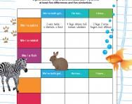 If I were an animal… worksheet
