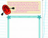 Illustrating a text worksheet