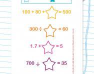 Incomplete number sentences worksheet