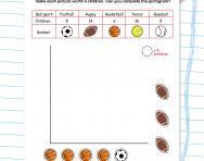 Interpreting pictograms worksheet