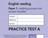 TheSchoolRun KS1 SATs English practice test A